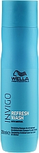 Fragrances, Perfumes, Cosmetics Revitalizing Shampoo for All Hair Types - Wella Professionals Invigo Balance Refresh Wash Revitalizing Shampoo