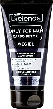 Fragrances, Perfumes, Cosmetics Cleansing Face Gel - Bielenda Only For Men Carbo Detox Gel