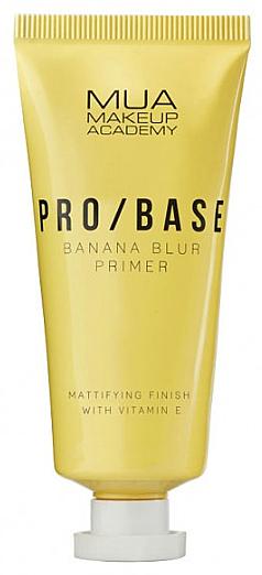 Banana Scented Face Mattifying Primer - Mua Pro/ Base Banana Blur Primer