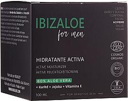 Fragrances, Perfumes, Cosmetics Face Cream - Ibizaloe Active Moisturizer