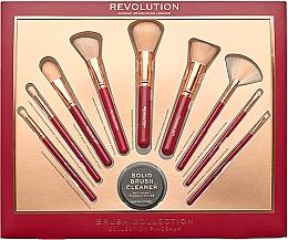 Fragrances, Perfumes, Cosmetics Makeup Brush Set - Makeup Revolution Brush Collection