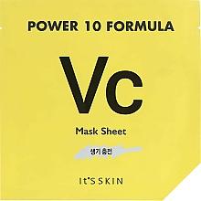 Fragrances, Perfumes, Cosmetics Tone-Up Sheet Mask - It's Skin Power 10 Formula Mask Sheet VC