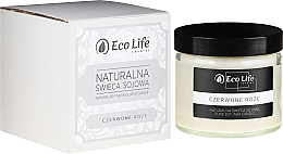 """Fragrances, Perfumes, Cosmetics Scented Candle """"Red Rose"""" - Eco Life Candles"""