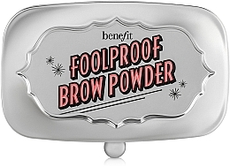 Fragrances, Perfumes, Cosmetics Brow Powder - Benefit Foolproof Brow Powder