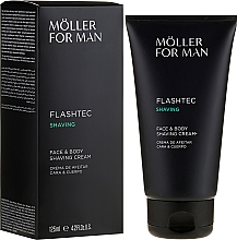 Fragrances, Perfumes, Cosmetics Shaving Cream - Anne Moller Man Flashtec Shaving Face And Body Shaving Cream
