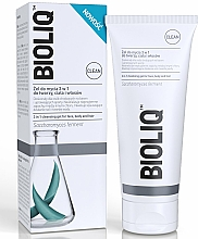 Fragrances, Perfumes, Cosmetics 3-in-1 Cleansing Face, Body & Hair Gel - Bioliq Clean Cleansing Gel For Face Body And Hair