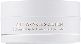 Fragrances, Perfumes, Cosmetics Collagen & Colloidal Gold Hydrogel Eye Patch, standart - BeauuGreen Collagen & Gold Hydrogel Eye Patch