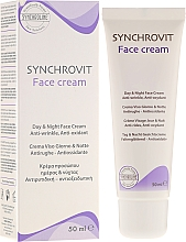 Fragrances, Perfumes, Cosmetics Anti-Aging Cream - Synchroline Synchrovit Face Cream
