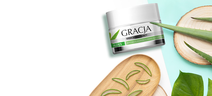 Get a free Moisturizing Cream when buying Gracja products worth £7 or more