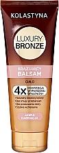 Fragrances, Perfumes, Cosmetics Bronzing Balm for Light Skin - Kolastyna Luxury Bronze Balm