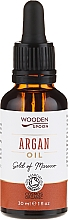 Fragrances, Perfumes, Cosmetics Argan Oil - Wooden Spoon 100% Pure Argan Oil