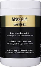 Fragrances, Perfumes, Cosmetics Coenzyme Q10 & Goji Berry SPA Dead Sea Salt - BingoSpa Salt For Bath SPA of Dead Sea