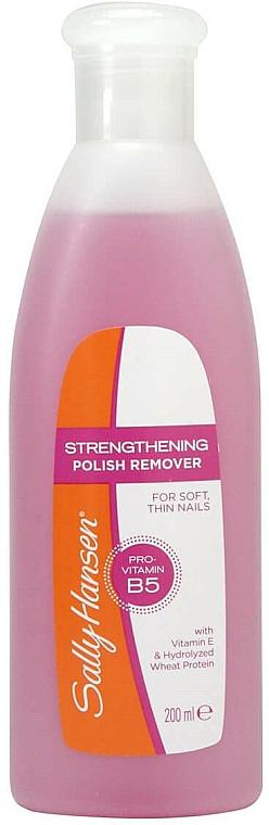 Nail Polish Remover - Sally Hansen Strengthening Polish Remover With Vitamin E