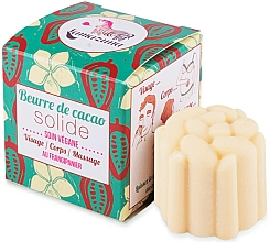 Fragrances, Perfumes, Cosmetics Face & Body Solid Oil - Lamazuna Solid Cocoa Butter With Baobab Oil And Frangipani