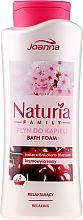 Fragrances, Perfumes, Cosmetics Bubble Bath - Joanna Naturia Family Bath Foam Cherry Blossom