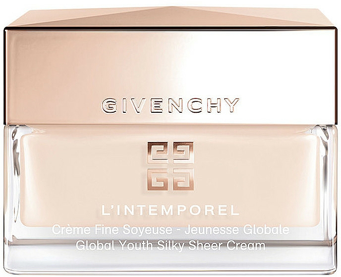 Gentle Face Cream - Givenchy L'Intemporel Global Youth Silky Sheer Cream