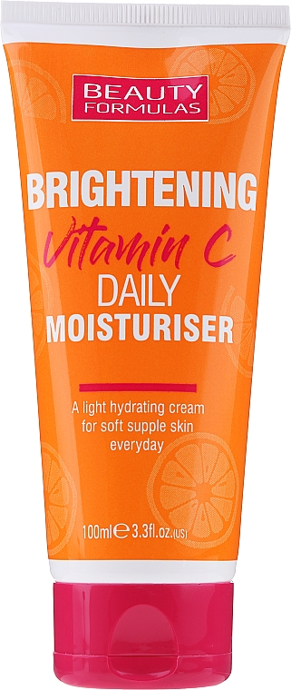 Daily Brightening Moisturizing Face Cream - Beauty Formulas Brightening Vitamin C Daily Moisturiser Cream