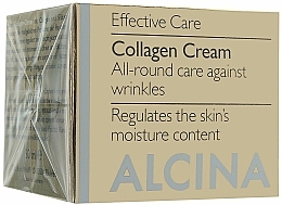 Fragrances, Perfumes, Cosmetics Anti-Aging Collagen Face Cream - Alcina E Collagen Creme