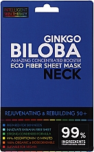 Fragrances, Perfumes, Cosmetics Express Neck Mask - Beauty Face IST Rejuvenating & Rebuilding Neck Mask Ginkgo Biloba