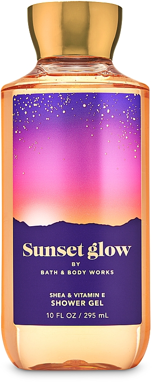Shower Gel - Bath And Body Works Sunset Glow Shower Gel — photo N1