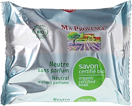 Fragrances, Perfumes, Cosmetics Non-Scented Organic Soap - Ma Provence Nature Soap