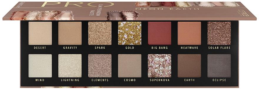 Eyeshadow Palette - Catrice Pro Neon Earth Slim Eyeshadow Palette