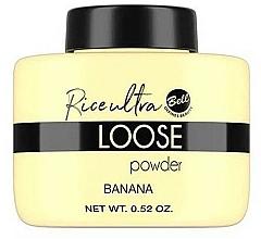 Fragrances, Perfumes, Cosmetics Loose Banana Face Powder - Bell Loose Rice Fixing Banana Powder