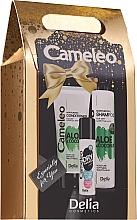 Fragrances, Perfumes, Cosmetics Set - Delia Cosmetics Cameleo (h/shm/250ml + h/cond/200ml + dry shm/50ml)