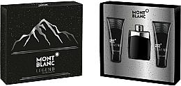 Fragrances, Perfumes, Cosmetics Montblanc Legend - Set (edt/100ml+ash/balm/100ml+sh/gel/100ml)