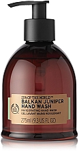 Fragrances, Perfumes, Cosmetics Hand Wash Gel - The Body Shop Spa of the World Balkan Juniper Hand Wash