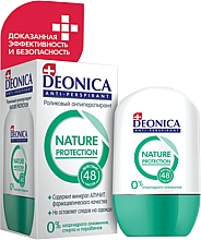 Fragrances, Perfumes, Cosmetics Roll-on Antiperspirant - Deonica Nature Protection