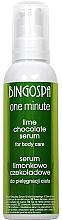 Fragrances, Perfumes, Cosmetics Chocolate & Lime Body Serum - BingoSpa
