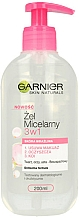 Fragrances, Perfumes, Cosmetics Micellar for Sensititive Skin - Garnier Skin Naturals Cleansing Micellar Gel
