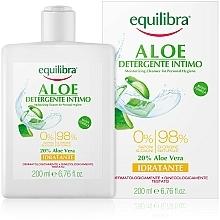 Fragrances, Perfumes, Cosmetics Moisturizing Intimate Wash Gel - Equilibra Aloe Moisturizing Cleanser For Personal Hygiene