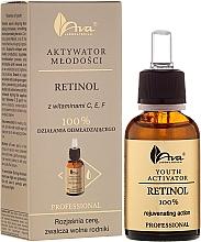 Fragrances, Perfumes, Cosmetics Face Serum with Vitamins C, E and F - Ava Laboratorium Youth Activators Serum