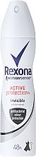 Fragrances, Perfumes, Cosmetics Deodorant Spray - Rexona Motionsense Active Protection+ Invisible