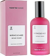 Fragrances, Perfumes, Cosmetics Anti-Wrinkle, Anti-Age Restoring Toner - Thank You Farmer Miracle Age Tooner