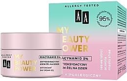 Fragrances, Perfumes, Cosmetics Antioxidant Day Face Cream-Gel - AA My Beauty Power Niacynamid 5% Antioxidant Day Cream-Gel