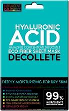 Fragrances, Perfumes, Cosmetics Express Decollete Mask - Beauty Face IST Extremely Moisturizing Decolette Mask Hyaluronic Acid