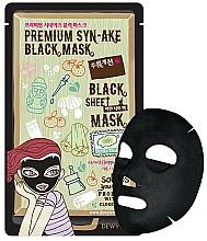 Fragrances, Perfumes, Cosmetics Face Sheet Mask with Lifting Effect - Dewytree Premium Synake Black Sheet Mask