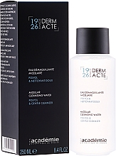 Fragrances, Perfumes, Cosmetics Makeup Removal Micellar Water - Academie Derm Acte Micellar Water