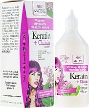 Fragrances, Perfumes, Cosmetics Hair Serum - Bione Cosmetics Keratin + Quinine Stimulating Massaging Hair Serum