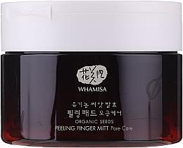 Fragrances, Perfumes, Cosmetics Face Peeling Sponges - Whamisa Organic Seeds Peeling Finger Mitt Pore Care