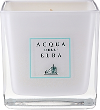 "Fragrances, Perfumes, Cosmetics Scented Candle in Glass ""Sea Breeze"" - Acqua Dell Elba Brezza Di Mare Candle"