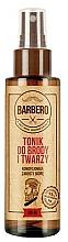 Fragrances, Perfumes, Cosmetics Beard & Face Tonic - Barbero Beard and Face Tonic