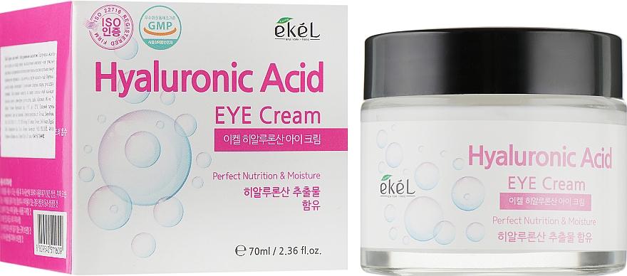 Moisturizing Hyaluronic Acid Eye Cream - Ekel Hyaluronic Acid Eye Cream