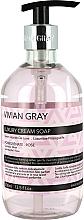 Fragrances, Perfumes, Cosmetics Hand Soap - Vivian Gray Luxury Cream Soap Pomegranate & Rose