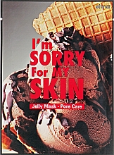 Fragrances, Perfumes, Cosmetics Face Sheet Mask - Ultru I'm Sorry For My Skin Pore Care Mask