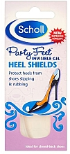 Fragrances, Perfumes, Cosmetics Anti-Chafing Gel Heel Pads - Scholl Party Feet Invisible Gel Shields Back of Heels