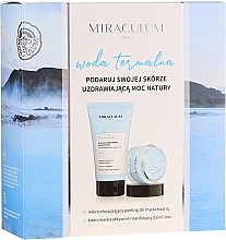 Fragrances, Perfumes, Cosmetics Set - Miraculum Woda Termalna (scrub/150ml + cr/mask/50ml)